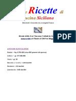 Cucina Siciliana - Antiche Ricette