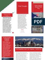 group 6 hazard field trip - pamphlet