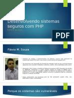 Desenvolvendo sistemas seguros com php