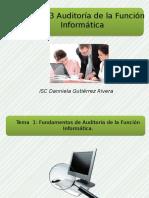 Analisis Del Concepto de Auditoria en Informatica