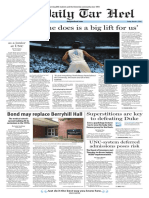 The Daily Tar Heel for March 4, 2016