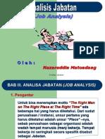 006A - Analisis Jabatan (Job Description)