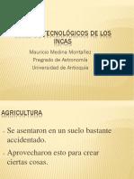 Unidad 2 Avances Tecnológicos de Los Incas - Mauricio Medina