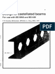 81913145 Design of Castellated Beams