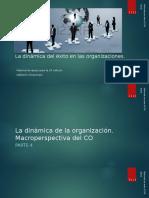 La dinámica del éxito en las organizaciones