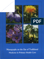 Monographs Traditional Medicines used in Primary Health centers