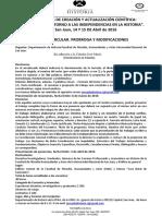 3º Circular Jornadas Historia 2016.Modificaciones