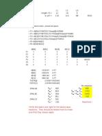Slope Deflection Excel
