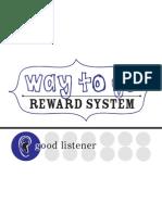 Blue Reward Chart 1