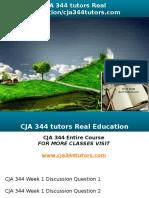 CJA 344 Tutors Real Education-cja344tutors.com