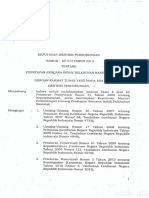Kp 414 Tahun 2013 Tentang Rencana Induk Pelabuhan Nasional