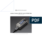 Adafruit - Feather m0 Wifi Atwinc1500