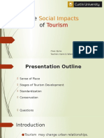 The Social Impacts of Tourism 15.2.16