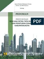 !!_Permen PU No 20 Tahun 2011_Pedoman RDTR & Per Zonasi