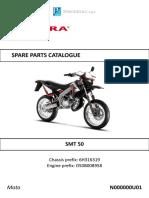 Gilera Smt Spare Parts Catalogue