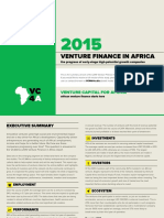 Venture Finance in Africa