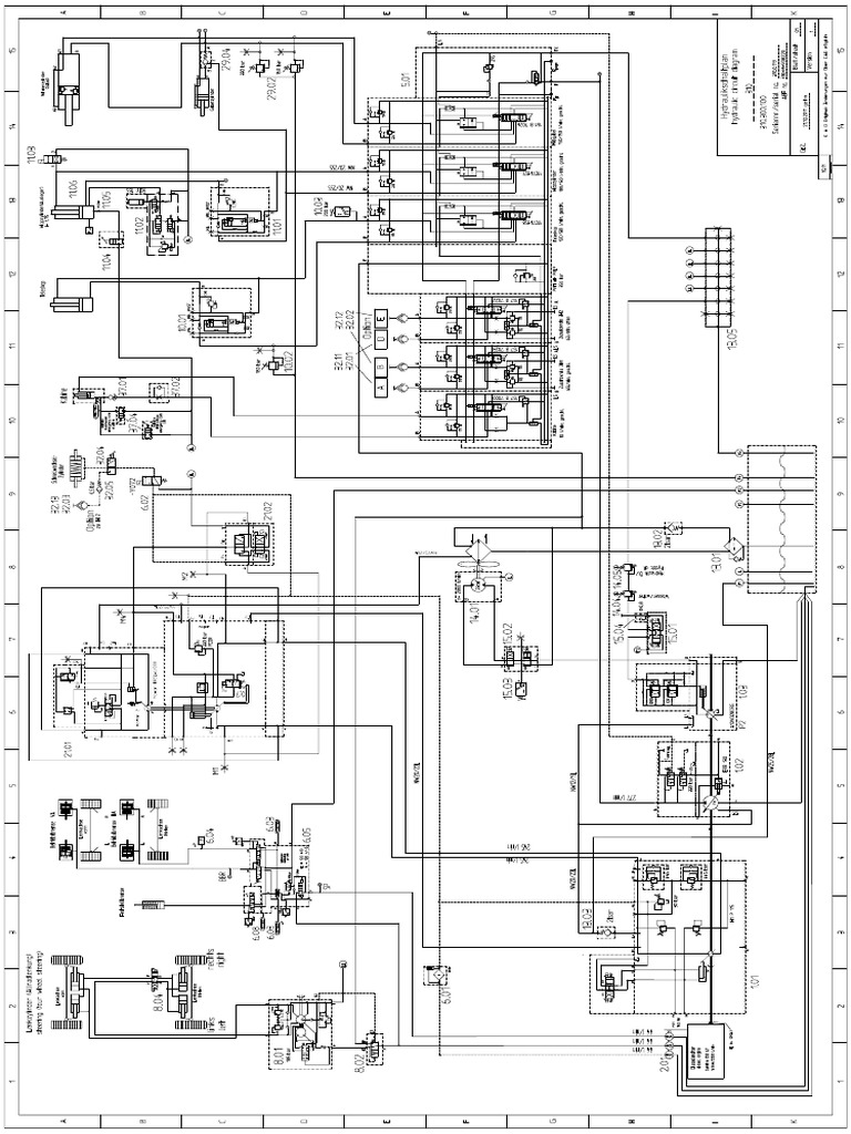 310.0.119 Hydraulic Diagram