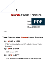 CHAPTER 2 Discrete Fourier Transform