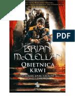 Obietnica Krwi - Brian McClellan