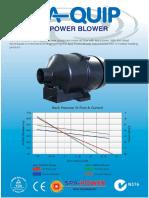SP Blower Promo Sheet