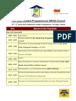 Site Visit_agenda_Meenakshi College of Engineering – KK Nagar, Chennai_10-11th Mar 2016 - Copy