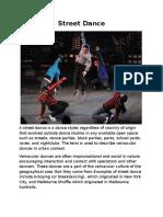 Street Dance.docx