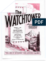 The Watchtower - 1952 issues