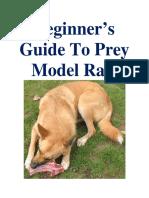 Rv. 6.1 Beginners Guide to Prey Model Raw