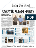 The Daily Tar Heel for April 20, 2010