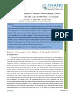 31. IJASR - CONSTRAINTS OF FARMERS IN UTILIZING CUSTOM HIRING SERVICE.pdf