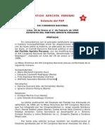Estatuto Del PAP ('10)