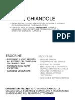 Le Ghiandole