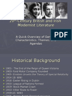Modernist Literature