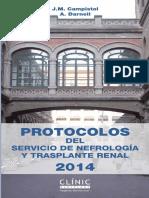 Protocolos Del Servicio de Nefrologia y Trasplante Renal