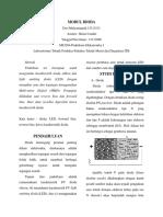 Laporan Praktikum Mekatronika I Kelompok 3 Modul 1 Dioda Shift Jumat Pagi_13113131