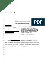 Plaintiff's Memorandum of Law in Support of Rule 60(b) Motion