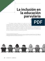 Art ''La Inclusión en La Ed Parvularia''