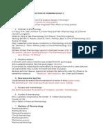 Sorulcvbcvbar Introduction of Pharmacology-2