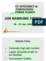 Ash Handling Systems Ppt