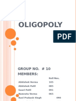 Oligopoly and Duopoly
