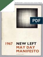 New Left May Day Manifesto (1967)
