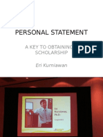 (How to Write a Personal Statement)