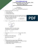 Latihan Soal Matematika Statistika Kelas 9 SMP