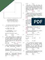 Capacitación en Matemática Sutep 03 2015