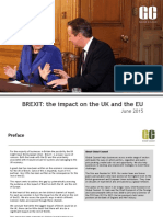 Global Counsel Impact of Brexit June 2015