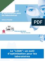 05- Le LEAN Un Outil d Optimisation Pour Les Laboratoires[1]