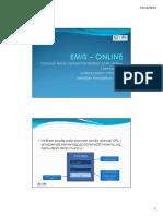 EMIS Online Manual - Lembaga