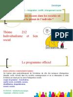 correctionthème 212 - Individualisme et lien social.ppt