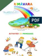 Activitati de Primavara in Gradini