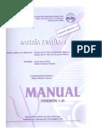 Evalua 2 Manual